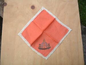 Original WW2 Reconnaissance Corps Sweetheart Silk Handkerchief.