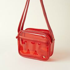 Stephanie Johnson Camera Crossbody Bag $45 Popsugar clear waterproof red vinyl