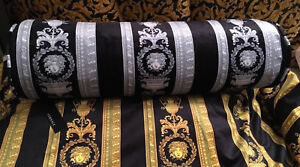 VERSACE CUSHION PILLOW BOLSTER FOR LUXURY COMFORT SOFA BED HOME DECOR SALE NEW