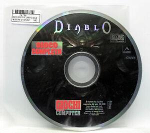 DIABLO EDIZIONE ITALIANA GIOCO PC CD ROM EDITORIALE VBC 74796