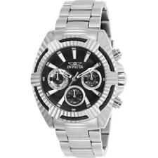 Invicta Bolt 27184 Women's Stainless Steel Watch with Black Analog Dial