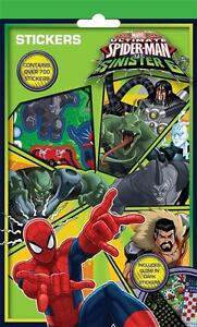 Spiderman Sinister 6 Pack of over 700 Stickers