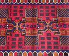 Handmade Afghan Kazakh Accent Rug, Camel Hair Natural Dyes Tribal & Nomadic 4x6