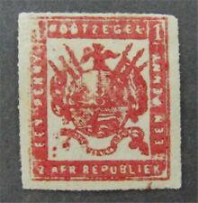 nystamps British Transvaal Stamp # 16 Mint OG H $130