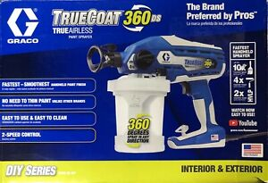 Brand New Graco TrueCoat 360DS 17a466 Airless Paint Sprayer Free Shipping