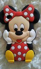 Silicone Cover per cellulari MINNIE1 RED para IPOD TOUCH 4
