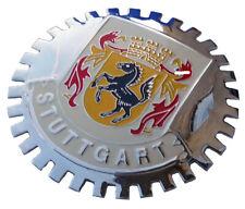 Stuttgart Germany home of Porsche & Mercedes - car grille badge 2nd version