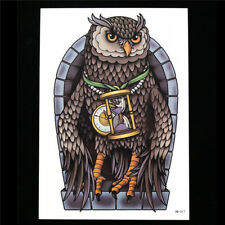 Procedura guidata temporanea Magic Owl DreamCatcher Tatuaggio Adesivi Body Art Tatuaggi Magic UK