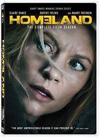 Homeland: Season 5 - 4 DISC SET (2017, DVD New)