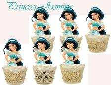 Princess Jasmine Cupcake Topper (12pcs)