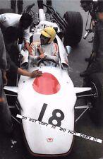 Foto 9x6, JO Schlesser F1 HONDA RA302 V8 FRENCH GP Rouen 1968