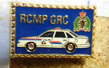 CANADA, ROYAL CANADIAN POLICE CAR AUTOMOBILE RCMP GRC METAL LAPEL HAT PIN