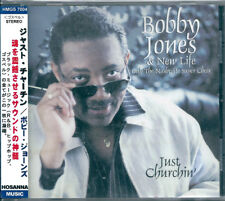 Bobby Jones & New Life Choir Just Churchin' Japan CD w/obi HMGS-7004