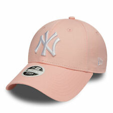 New Era MLB Womens League Essential New York Yankees Cap Pink Lemonade OSFA