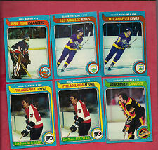 1979-80 TOPPS BARBER SMITH TAYLOR SNEPSTS CARD LOT