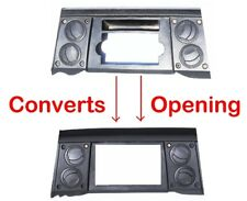 Aftermarket Radio Stereo Double Din Dash Install Bezel Panel Trim Kit Adapter