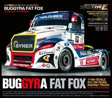 Tamiya - Buggyra Fat Fox On Road Racing Truck Kit, TT-01 Type E Chassis