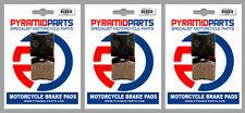 Garelli GTA 125  Front & Rear Brake Pads Full Set (3 Pairs)