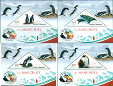PENGUINS ANIMALS FAUNA CHARLES DARWIN MADAGASCAR 2019 MNH STAMP SET 4 SHEETS