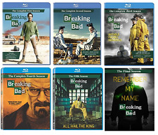 BREAKING BAD SEASONS 1 2 3 4 5 & FINAL ONE TWO THREE FOUR FIVE BLU RAY - NEW!!