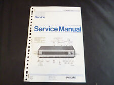Original Service Manual Philips ta 90ah 770