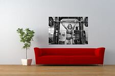 PHOTO SPORT SEXY GIRL HOT WEIGHTLIFTING GYM FITNESS GIANT PRINT POSTER NOR1003
