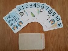 Nerdy Baby Number Flash Cards For Young Scientists - Great Baby Shower Gift!