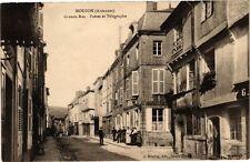 CPA Mouzon (Ardennes) - Grande Rue -Postes et Télégraphe (224956)