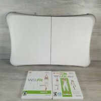 Wii Fit Balance Board Nintendo Exercise Fitness Tested w Wii Fit &Wii fit plus