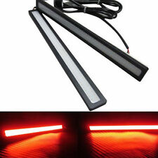 2pcs 12V LED COB Car Auto DRL Driving Daytime Running Lamp Fog Light Red 17cm