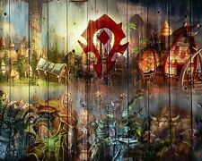 World of Warcraft WOW Horde Wall Poster 11 Print Art Decoration 16x20 Inches.