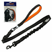Ezee Paws Dog Seat Belt with No Pull Dog Lead Bungee and Soft Padded Handle