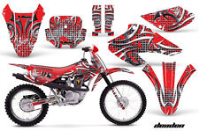 AMR Racing Honda XR 80/100 Graphic Decal Number Plate Kit Bike Stickers 01-03 DN