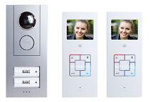M-E Videosprechanlage VD-6320 Videoanlage Vistus Farbe Zweifamilienhaus