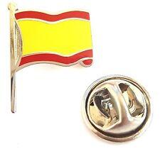 Spain Flag Enamel Lapel Pin Badge T346