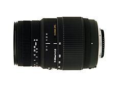 Sigma 70-300mm f/4-5.6 DG Macro Telephoto Zoom Lens for Nikon Digital SLR Camera