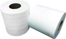 """HuskyPapers White Paper Towel High Capacity Rolls 800 Ft 2""""Core - 6 / Case"""