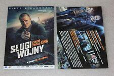 Sługi Wojny (2019)  - Polish promo FLYER - ULOTKA
