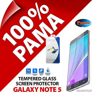 Pama Tempered Glass Screen Protector Round Edge Guard Film Samsung Galaxy Note 5