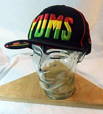 YUMS Rasta Snapback Hat Adjustable One Size Red Yellow Green New Era