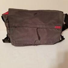 Grey and Red  Hugo Boss Over the shoulder Messenger Bag