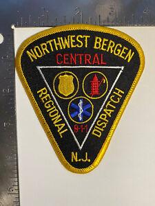 NORTHWEST BERGEN CENTRAL REGIONAL DISPATCH NEW JERSEY 911 PATCH