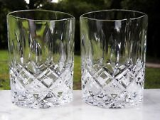 Pair 2 Crystal NACHTMANN Noblesse WHISKEY GLASSES 4""