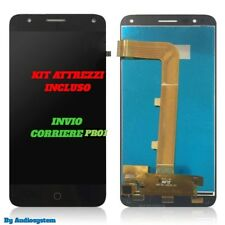 DISPLAY +TOUCH SCREEN +TOOLS ALCATEL ONE TOUCH POP 4 OT-5051D 5051X NERO VETRO