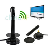 Digital Freeview 25dBi Antenna Aerial DVB-TV Plug for DVB-T T2 TV HDTV Antenna