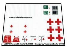Replica Pre-Cut Transparent Sticker for 6380 - Emergency Treatment Center