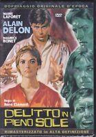 Dvd **DELITTO IN PIENO SOLE** con Alain Delon nuovo 1960