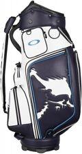 Oakley Stand Caddy Bag Skull Golf Bag 11.0 921078Jp-02E Blue 9.5 X 47 Inch 6way