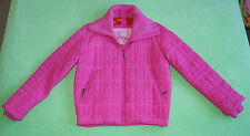 Joules pink , winter rose , quilted jacket for woman size UK 12