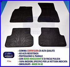Tappetini per Audi A1 Sportback 5 porte dal 2012 in poi in Gomma Tappeti auto